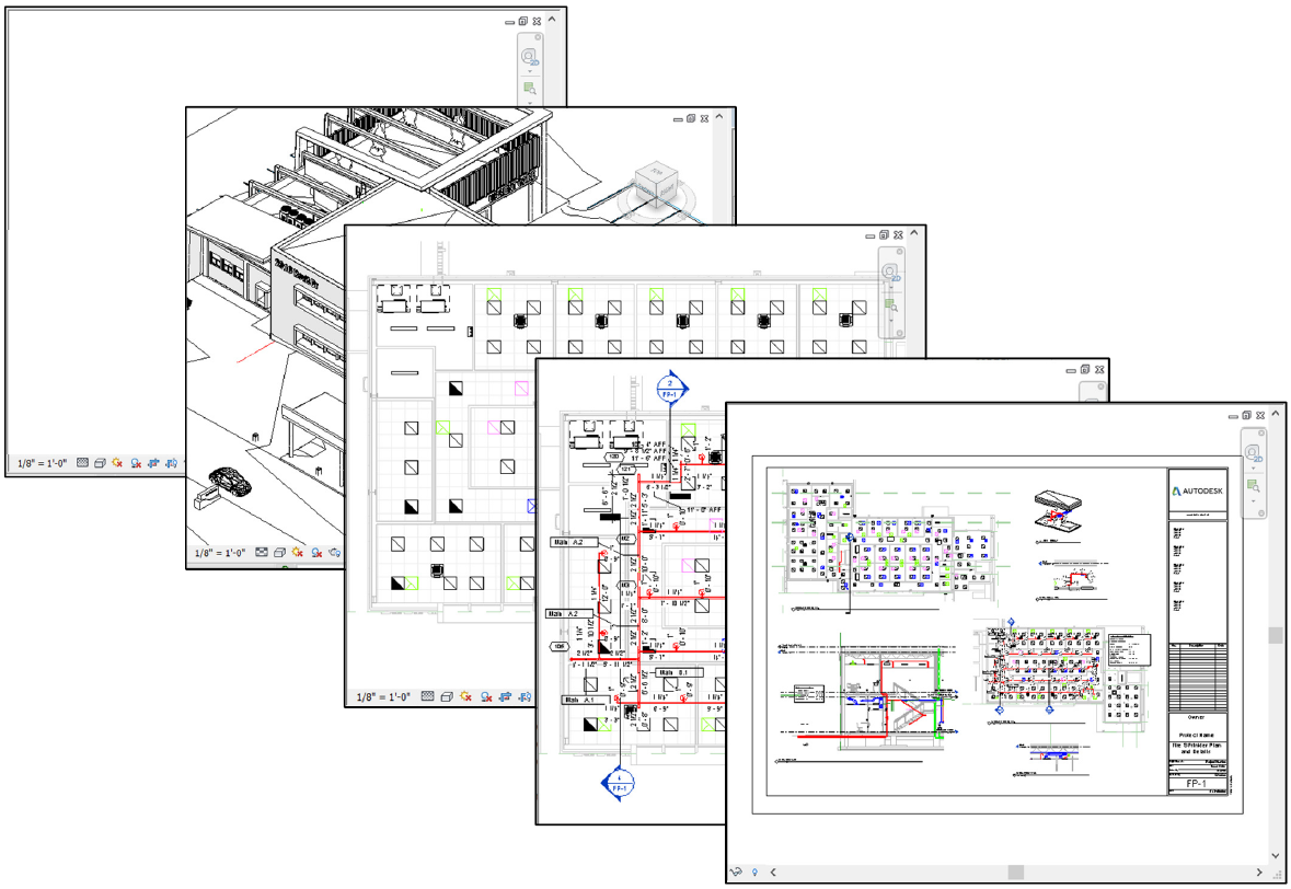 Revit training drawings